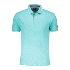 polo km jersey mini print